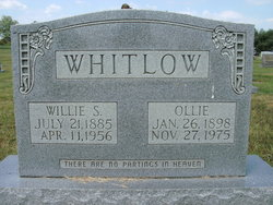 Willie Stokley Bill Whitlow