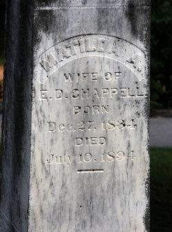 Matilda Ann <i>Davis</i> Chappell