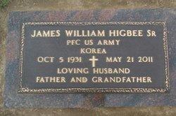 James William Jim Higbee, Sr