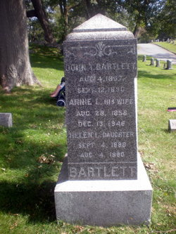 Annie L. <i>Lancy</i> Bartlett