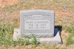 Mary Jane <i>Mabe</i> Hancher