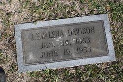Ida Evalena <i>Vance</i> Davison