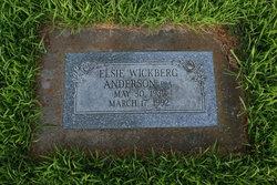 Elsie <i>Wickberg</i> Anderson