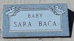 Baby Sara Baca