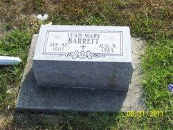 Leah Mary Barrett