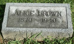 Sarah Alice Allie <i>Denne</i> Brown