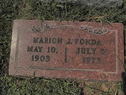 Marion J Fonda
