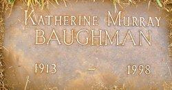 Katherine <i>Murray</i> Baughman