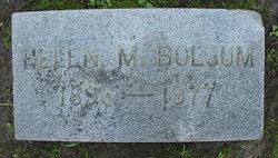 Helen M Bolsum