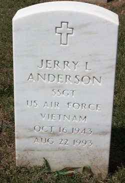 Sgt Jerry L. Anderson