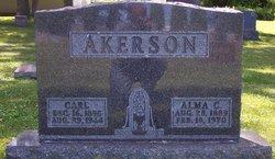 Alma Caroline <i>Carlson</i> Akerson
