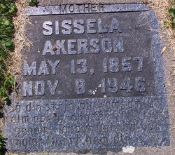 Sissela <i>J�nsdatter</i> Akerson