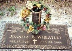 Juanita B <i>Williamson</i> Wheatley