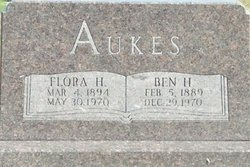 Flora H <i>Kuper</i> Aukes
