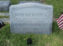 Col Walter Rae Mike Beckett, Jr