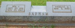 Benjamin James Barham