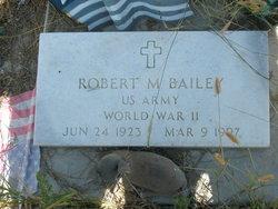 Robert M. Bailey