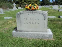 Bessie S <i>Kempshall</i> Ackiss