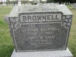 Annis W <i>Snow</i> Brownell