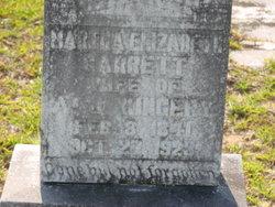 Martha Elizabeth <i>Garrett</i> Kingery