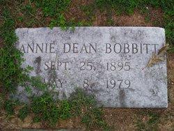 Annie <i>Dean</i> Bobbitt