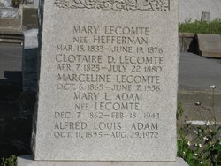 Mary Louise <i>Lecomte</i> Adam