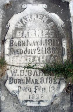 Sarah A. Barnes