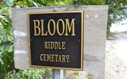 Bloom Riddle Cemetery