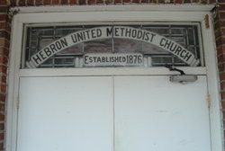 Hebron United Methodist Church Cemetery