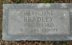 Mary Jane <i>Cook</i> Bradley