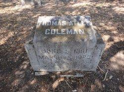 Thomas Atlee Tom Coleman