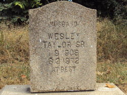 Wesley Big Daddy Taylor, Sr