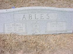 Rev. Thomas E Ables