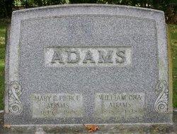 Mary E <i>Pierce</i> Adams