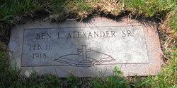 Benjamin Louis Alexander