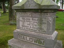 Sarah A. <i>Sims</i> Baldwin