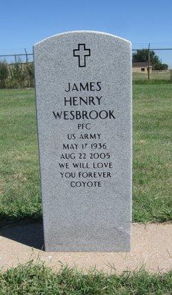 James H Wesbrook