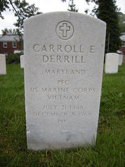 PFC Carroll Edward Derrill