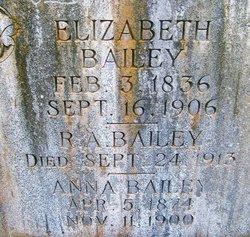 Elizabeth Malinda Mattie <i>Shinn</i> Bailey