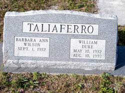 William Duke Taliaferro