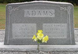 Alice <i>Powell</i> Adams