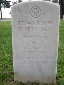 PFC Edward William Fell, Jr