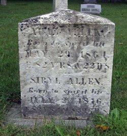 Ahaz Allen