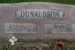 Mary <i>Baldwin</i> Donaldson