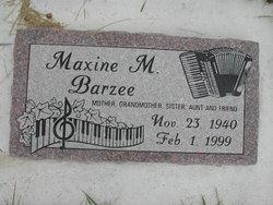 Maxine Marie Barzee