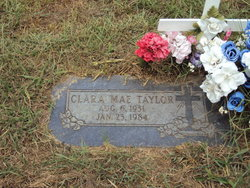 Clara Mae <i>Armstrong</i> Taylor