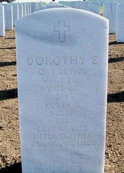 Dorothy E Dot <i>Halbur</i> Welch