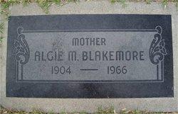 Algie Mae <i>Moore</i> Blakemore