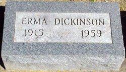 Erma <i>Eichelberger</i> Dickinson