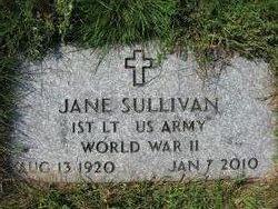 Jane <i>Chapin</i> Sullivan